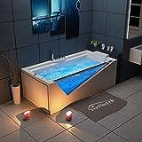 Tronitechnik Whirlpool Badewanne Rhodos 180cm x 90cm inkl....